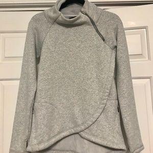 Athleta Sweaters - Like New Athleta Cozy Karma Asym Pullover Grey